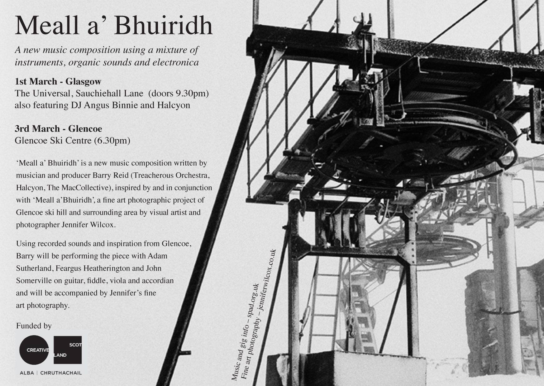 Meall a' Bhuiridh Flyer
