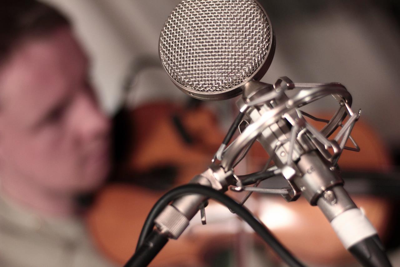 Fiddle recording with Adam sutherland