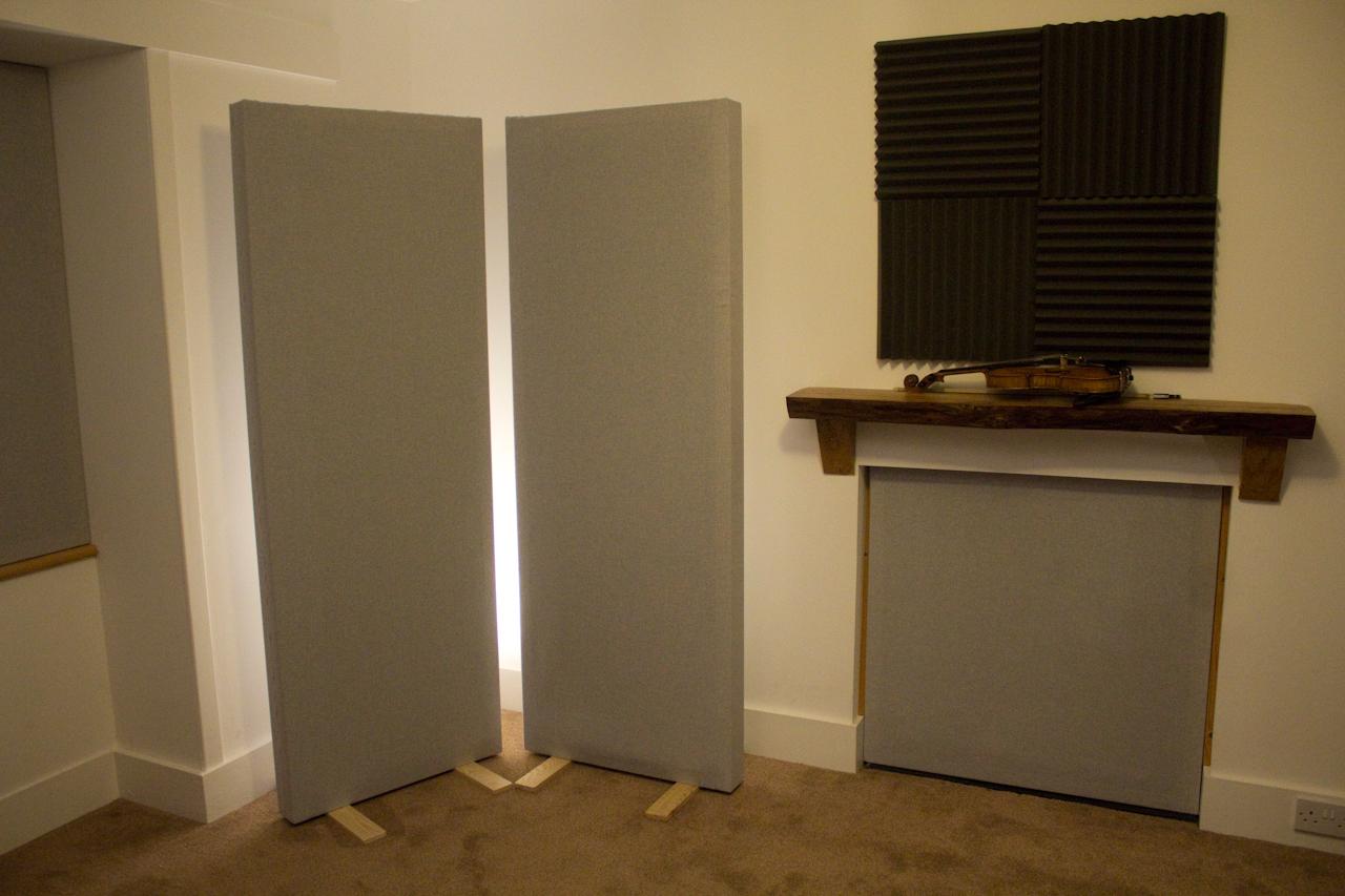 Rose Croft Studio - recording area