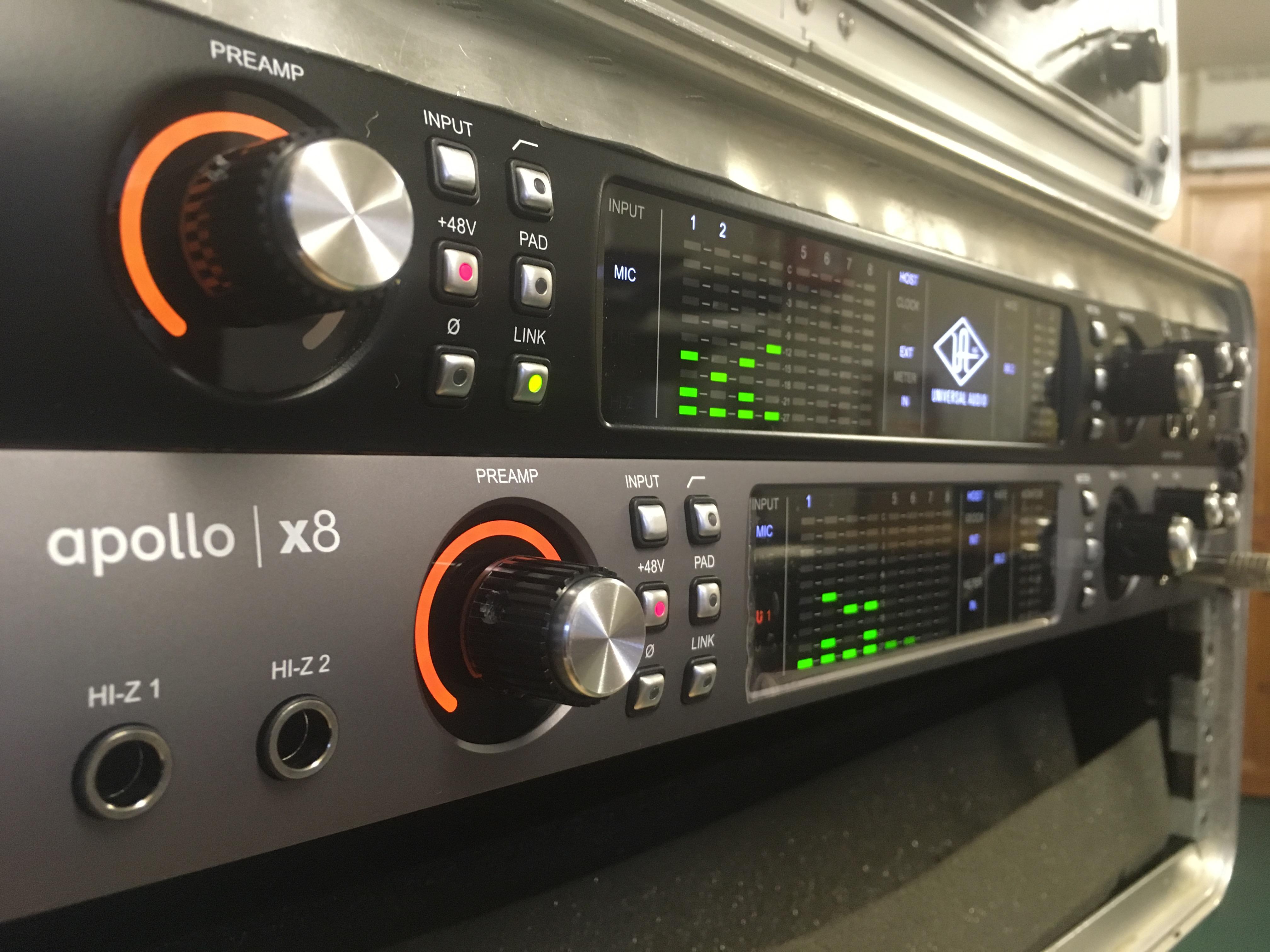 Rose Croft Studio - UA Apollo system x8 and 8