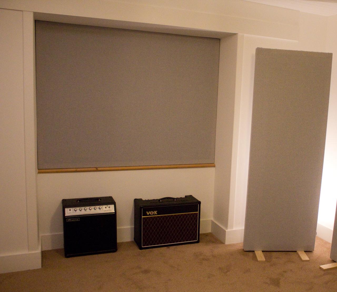 Rose Croft Studio - amps